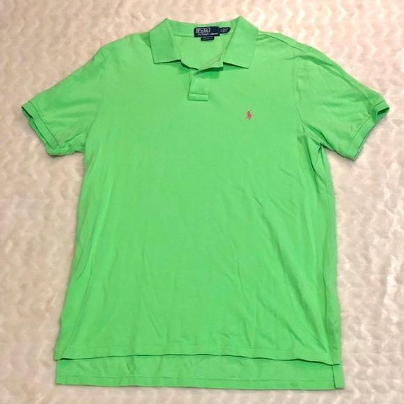 3d47a779 Polo Ralph Lauren Custom Fit Xl Lime Neon Green. M_5be21e9345c8b39695b2db2f